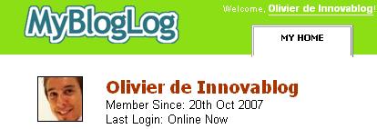 MyBlogLog et Innovablog