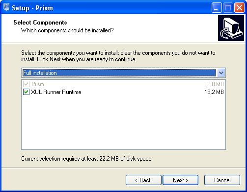 Prims : installation 01