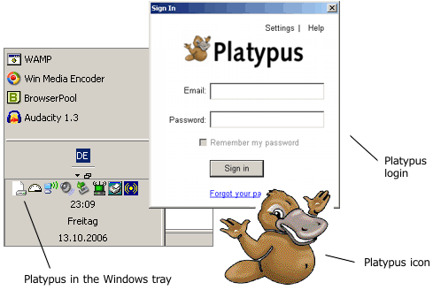 Google Platypus - Source : http://blogoscoped.com/archive/2006-10-13-n53.html
