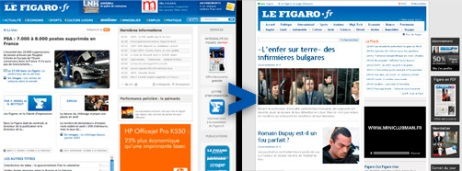 User Generated Content : Le Figaro V2.0