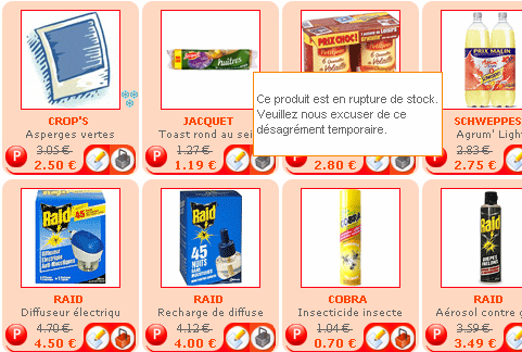 Ecommerce : Soldes - Auchan direct : rupture stock