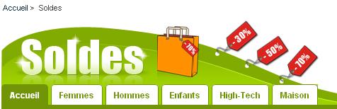 Ecommerce : Soldes - Kelkoo : Menu soldes