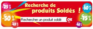 Ecommerce : Soldes - Rue du commerce : moteur de recherche