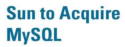MySQL racheté par Sun