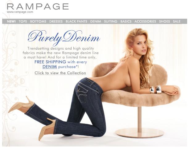 E-mailing Rampage : un peu sexe, non ? ;)