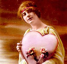 Saint Valentin - Image source Wikipédia http://fr.wikipedia.org/wiki/Image:BigPinkHeart.jpg