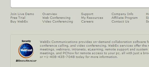 Webex Webtrust