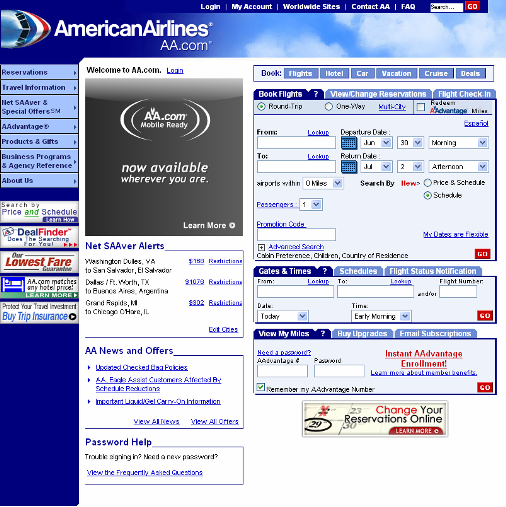 Design American Airlines