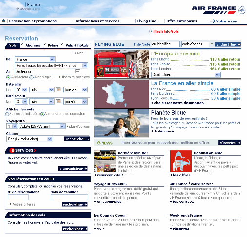Design Air France