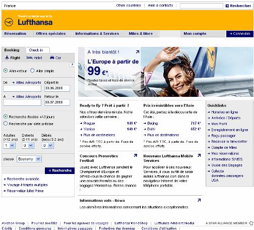 Design Lufthansa