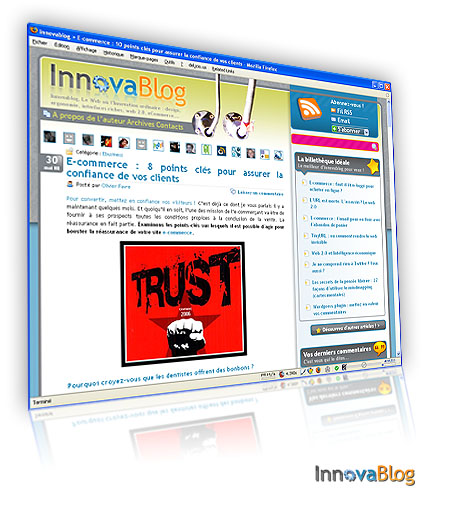 Re-design Innovablog