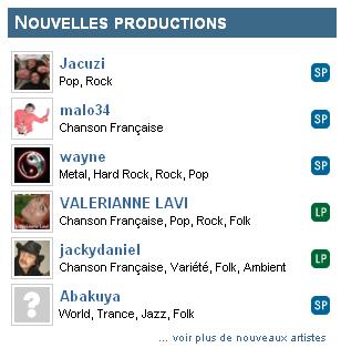 Akamusic, Nouvelles productions
