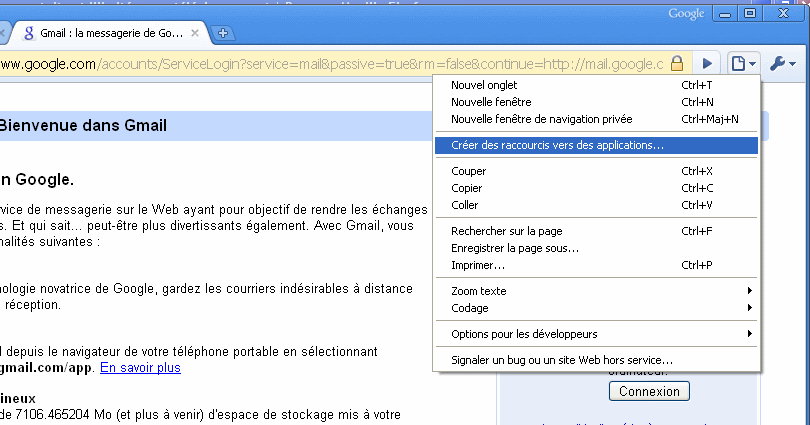 Chrome & Web applications